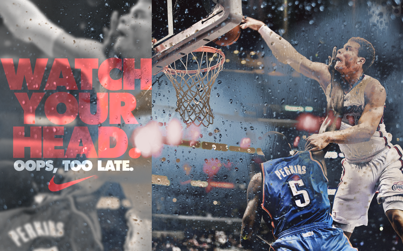 "blake griffin ""watch your head"" nike wallpaper 