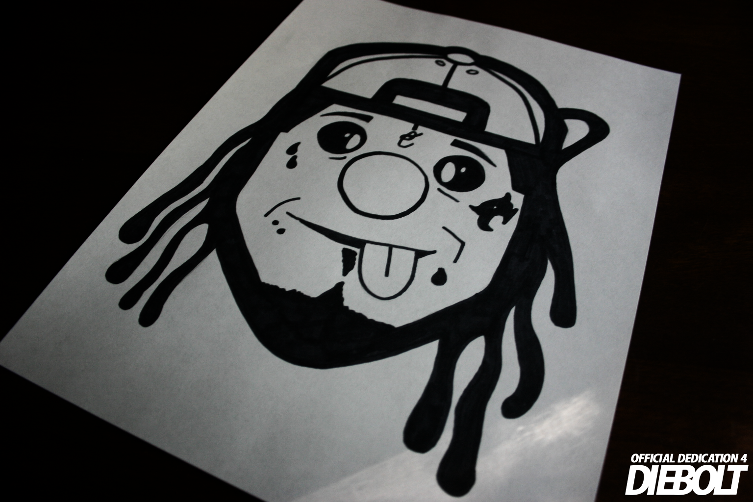 OFFICIAL Lil Wayne Dedication 4 Cover
