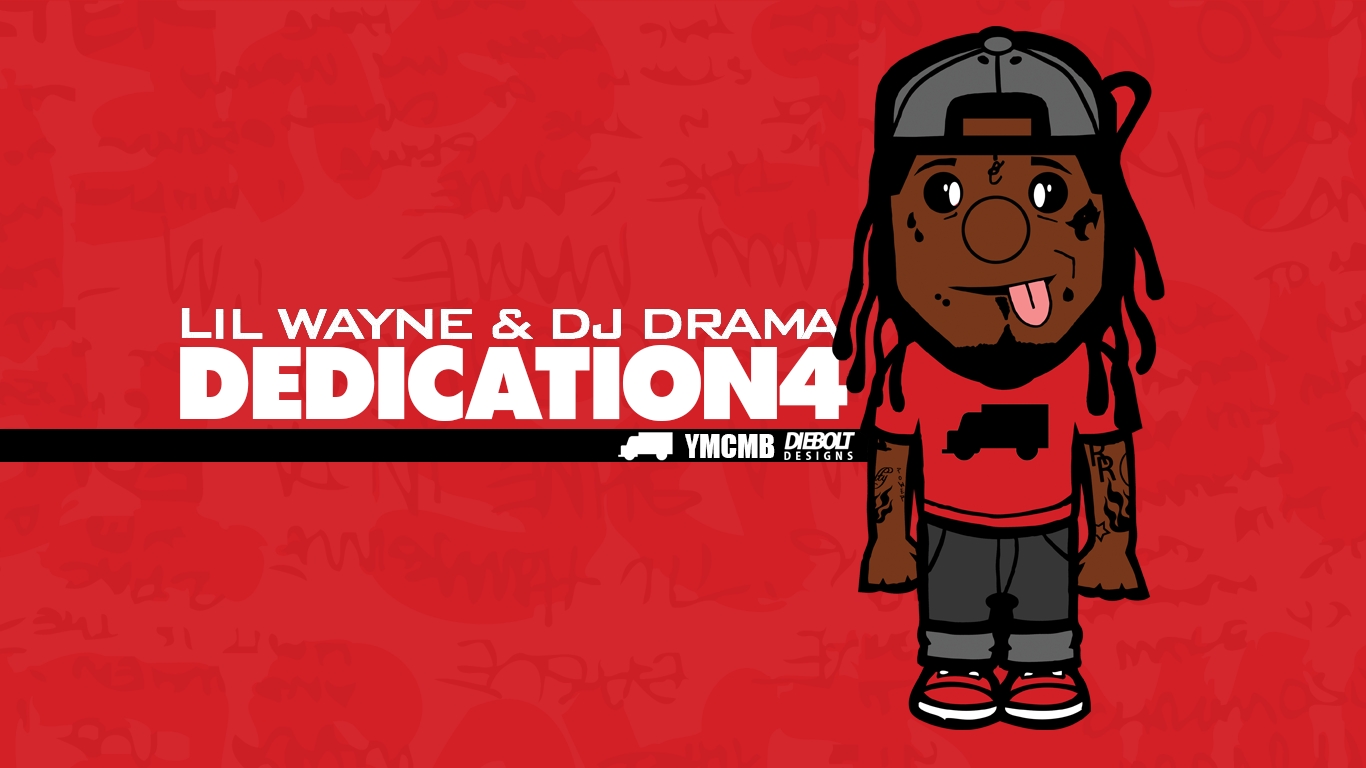 Lil Wayne Dedication 4 Wallpaper