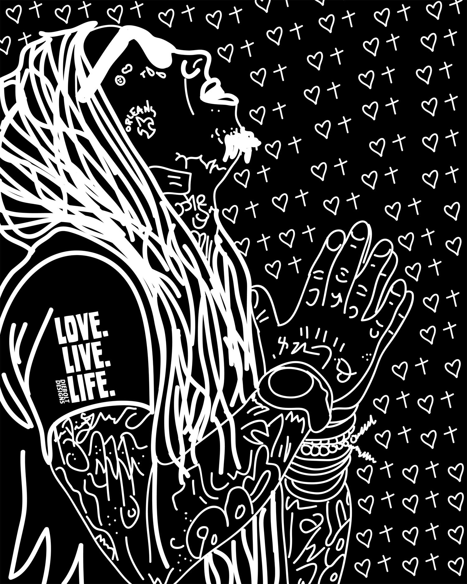 Lil Wayne LoveLiveLife Poster