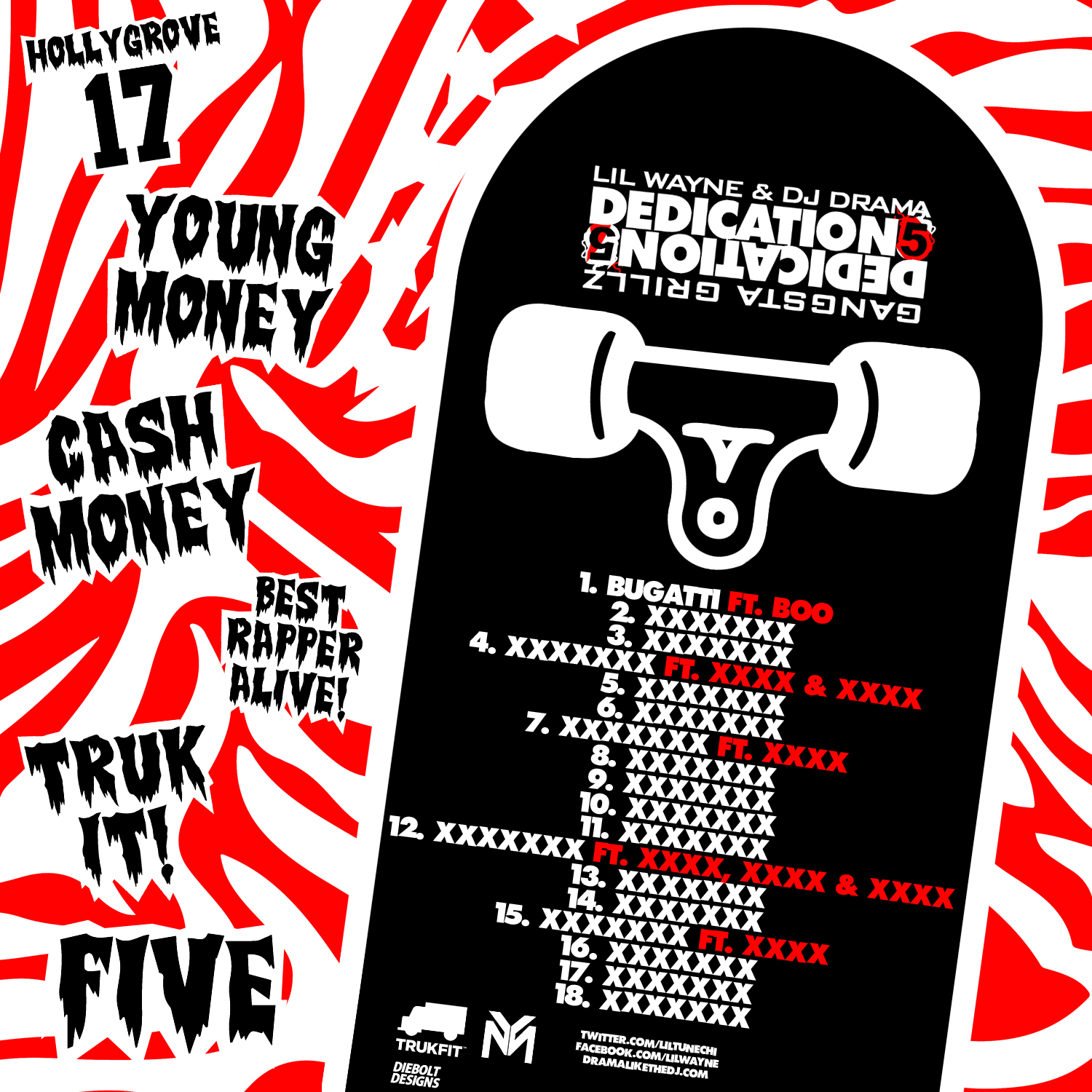 Related Keywords & Suggestions for dedication 5 tracklist