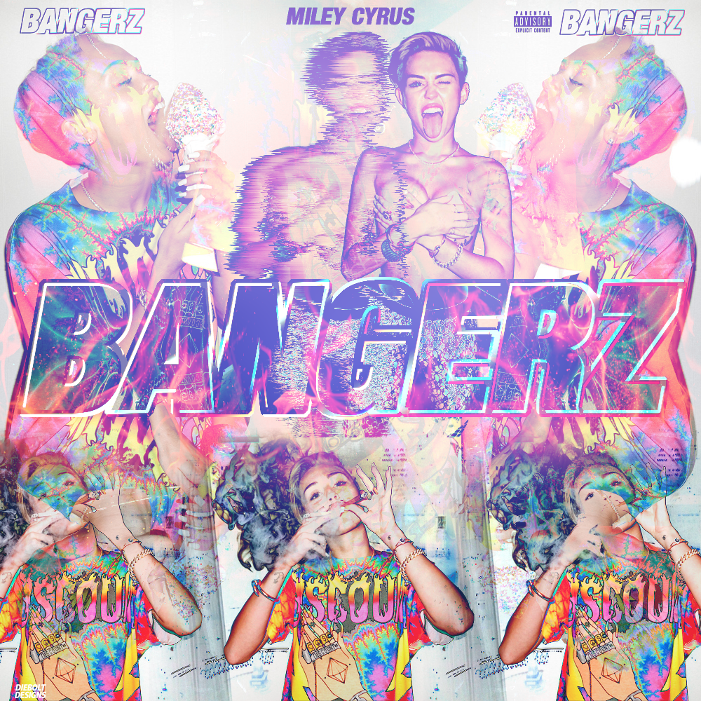 the gallery for gt miley cyrus bangerz cover