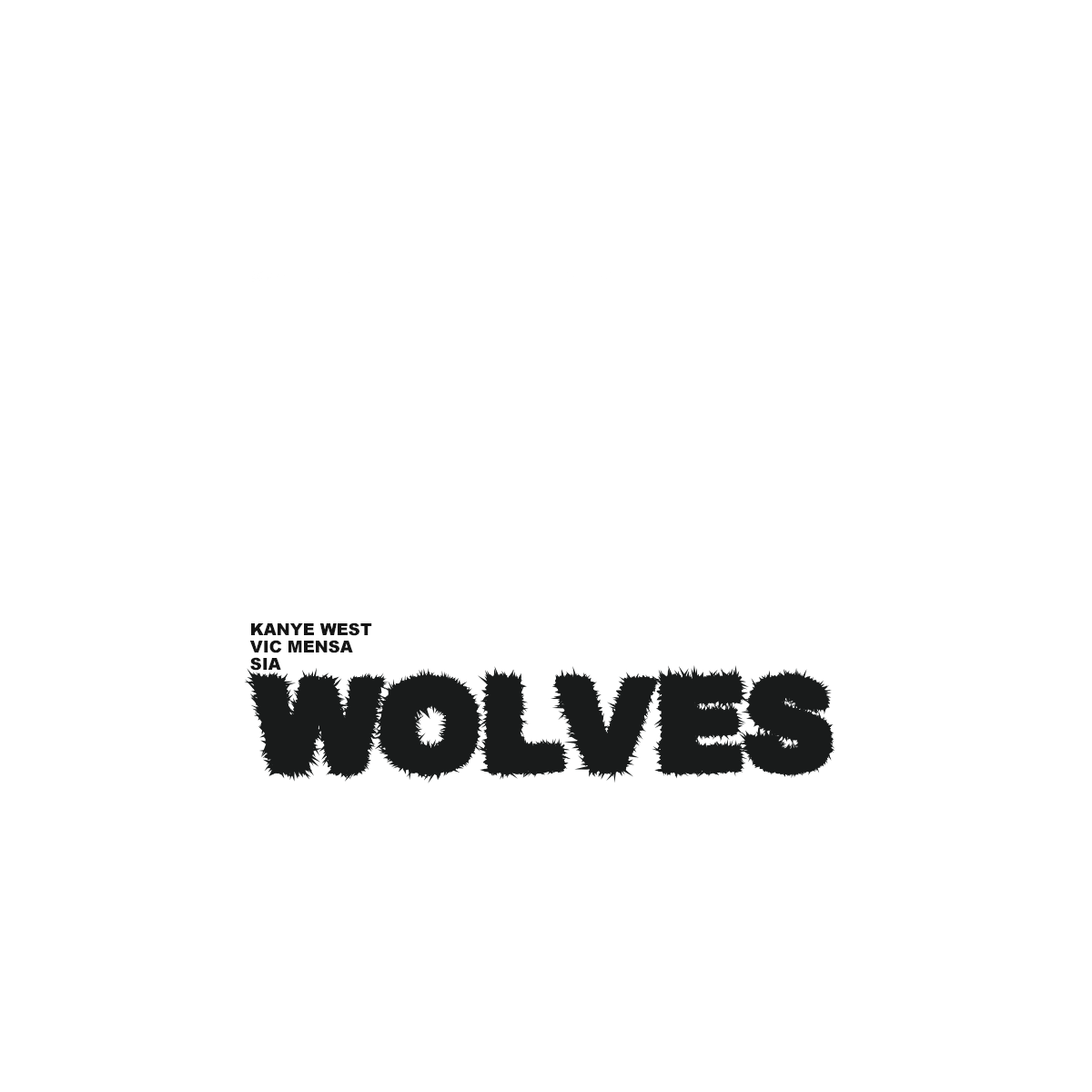 Kanye West Wolves Cover Dieboltdesigns